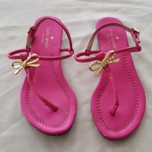 Kate Spade Pink Sandals - Size 5
